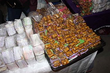 Mercado de dulces tipícos de Tlaxcala