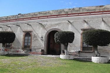 La ex hacienda Tenexac del silgo XVII, en Huamantla