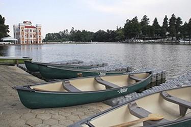 Zona de pesca en el Lago de Chautla