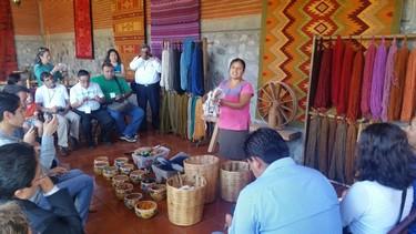 A Teotitlán, vous trouverez des objets typiques de la région