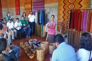 In Teotitlán you will find typical crafts of the region