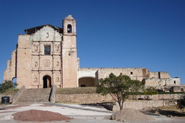 Ancien couvent de Santo Domingo Yanhuitlan