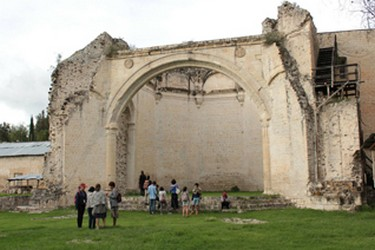 Chapelle ouverte de San Juan Bautista Coixtlahuaca Oaxaca