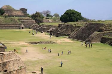 Centro Cerimonial localizado a 10 km de Oaxaca