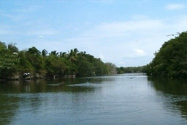 Laguna tres palos, Barra Vieja