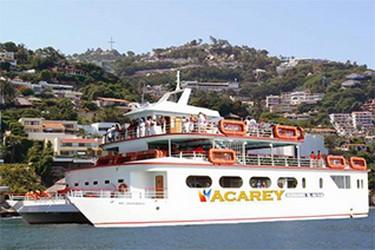 Vista del Catamaran en Acapulco