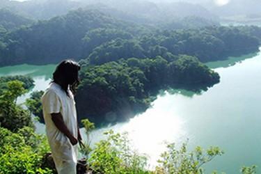 Vista panorámica de la laguna de Metzabok