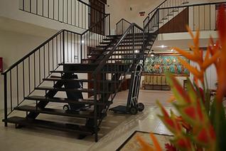Vista interna de la escalera general