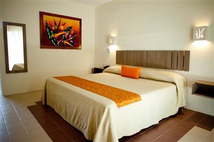 Habitación King Size de Plaza Palenque Hotel