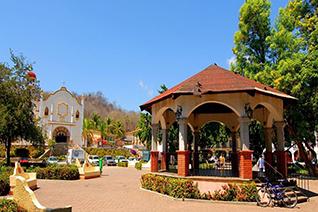 Parque central de la Crucesita