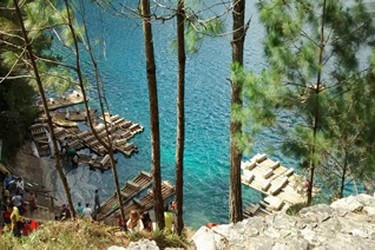 tournée dans les lagunes de Montebello