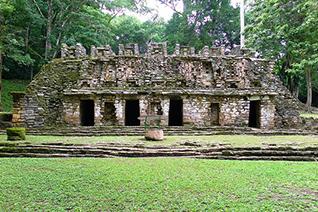 Yaxchilan palabra maya que  significa Piedras Verdes