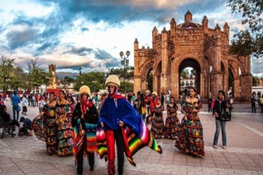 Festejo del Carnaval en Chiapa de Corzo