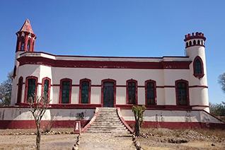 Santa Brigida en Mineral de Pozos, Guanajuato