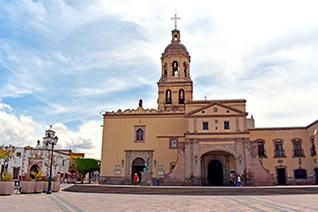 Covento de Santa Cruz en Querétaro