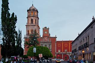 Templo de San Francisco en Querétaro