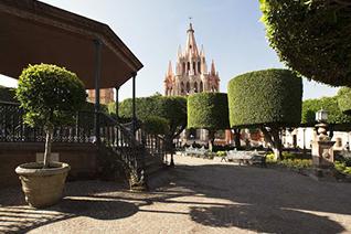 Plaza cívica de San Miguel de Allende