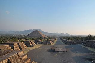 Zona arqueológica de Teotihuacan