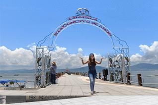 Tourisme à larc du lac Chapala