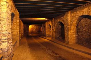 Calles y túneles de Guanajuato