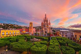 Jardín principal de San Miguel de Allende