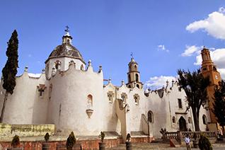 Santuario Jesús Nazareno en Atotonilco