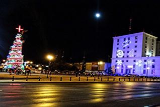 Ciudad de Chihuahua de noche