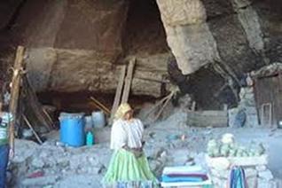 Cueva Tarahumara en Creel, Chihuahua