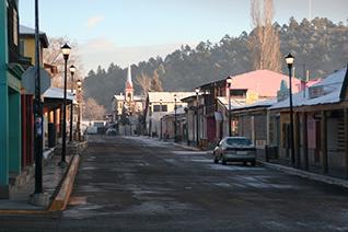 Pueblo de Creel en Chihuahua