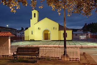 Plaza central de Creel en Chihuahua
