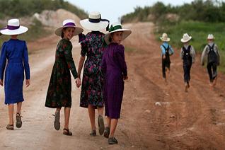 Mujeres menonitas