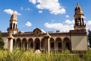 Hacienda propiedad de Don Luis Terrazas