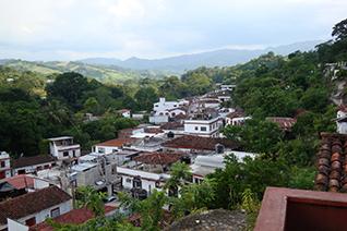 Vista panorámica del pueblo de Tapijulapa