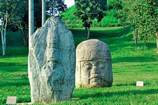 Zona arqueológica de La venta en Tabasco