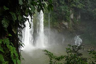 Cascada de Misol Ha en Chiapas