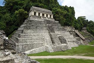 Zona Arqueológica de Palenque en Chiapas