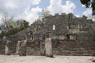 Pyramide de Calakmul