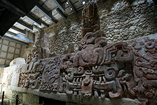 Bas-relief in Balamkú