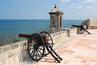 Vista panorámica del Fuerte de San Miguel
