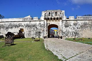 Antigua entrada principal de Campeche