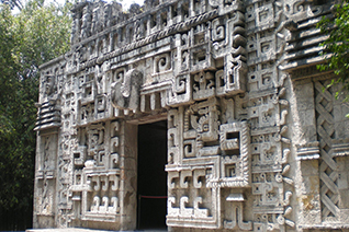 Balamkú el templo del jaguar