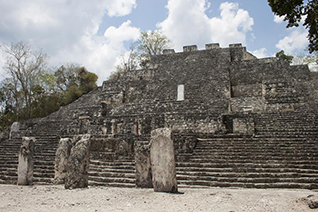 Pirámide de Calakmul