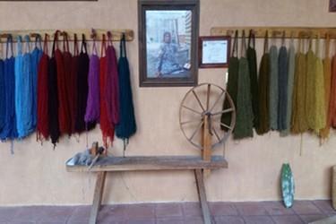Textiles elaborardos por artesanos en Teotilán del Valle