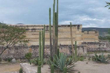 Edificación zapoteca en Mitla