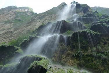 Cascada en el Cañón en temporada de lluvias